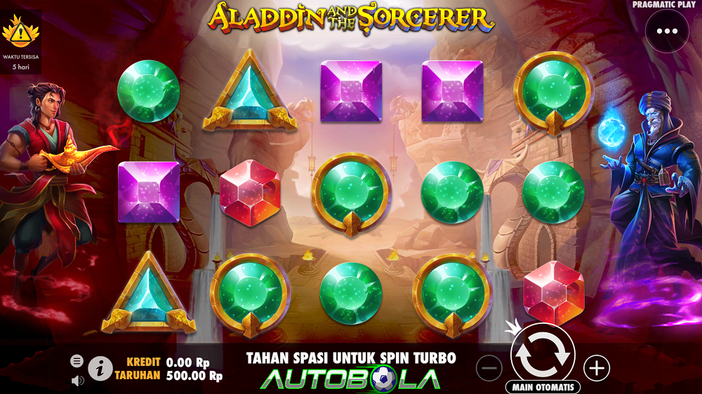 Review Slot Aladdin and the Sorcerer – Situs Slot Autobola