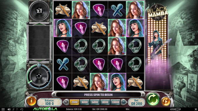 Review Game Black Mamba (Play'n GO) di Situs Slot Autobola
